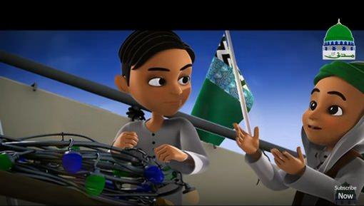 Animated Madani Khaka Kay 2 Kirdar Kon Hain?
