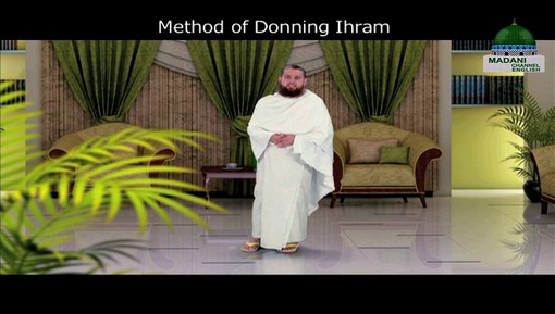 Method Of Donning Ihram