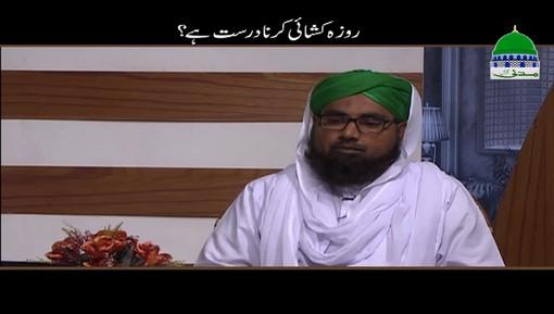 Kia Roza Kushai Karna Durust Hai?
