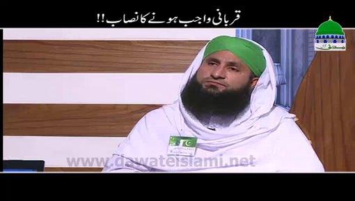Qurbani Wajib Honay Ka Nisab