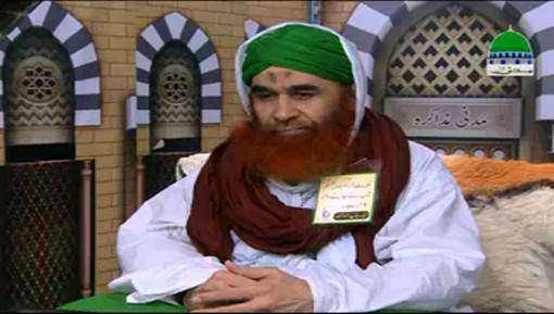 عبدالصمد عطاری کو امیرِ اہلسنت دامت برکاتہم العالیہ کے مدنی پھول