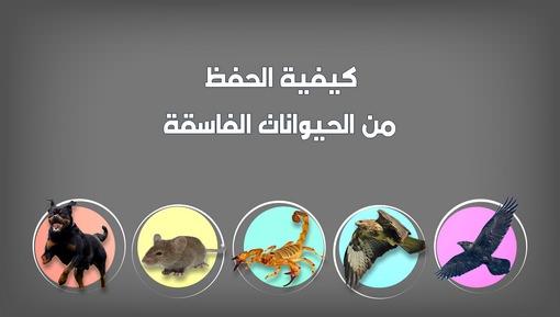 كيفية الحفظ من الحيوانات الفاسقة - فضائل الأعمال والأذكار (الحلقة: 11)