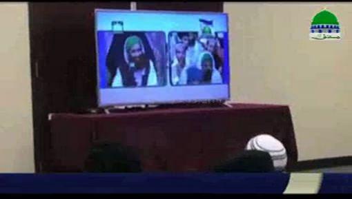 مجلس تجہیز و تکفین کے تحت بھٹ شاہ میں مدنی حلقہ