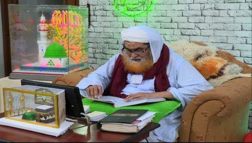 ناظم علی عطاری سے انکی امّی کے انتقال پر امیرِ اہلسنت کی تعزیت