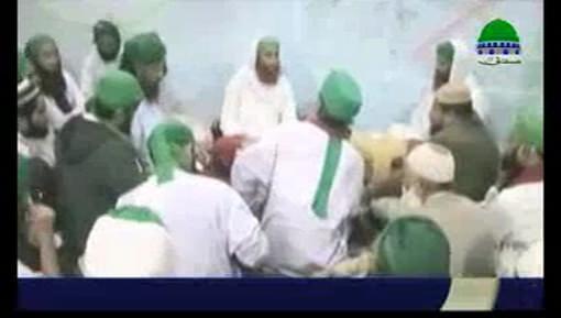 مجلس خدام المساجد کے تحت مدنی حلقہ سید لقمان عطاری کی شرکت