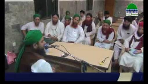 مجلس حج و عمرہ کے تحت مدنی حلقہ مفتی علی اصغر عطاری کی شرکت