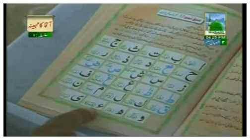 Madani Qaida - Makharij-e-Huroof