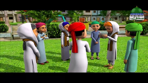 Kalam - Animated Madani Khaka Ghulam Rasool Kay Madani Phool