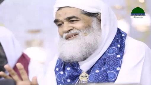 سید نوید ذاکر عطاری سے امیرِ اہلسنت دامت برکاتہم العالیہ کی عیادت