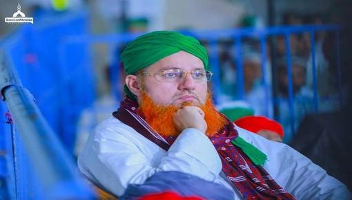 شہزاد گھانچی کے بیٹے کے انتقال پر عبدالحبیب عطاری کی ان سے تعزیت