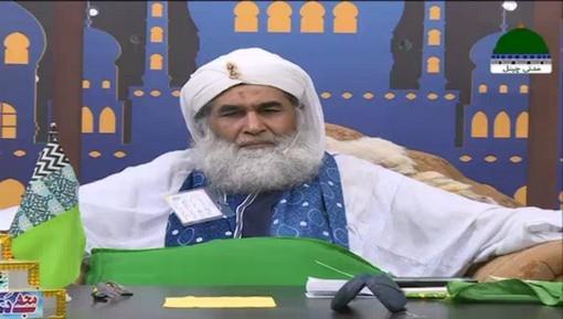 محمد امین عطاری کی شوگر کی وجہ سے نظر کے کمزور ہونے پر امیرِ اہلسنت دامت برکاتہم العالیہ کی عیادت و دعا