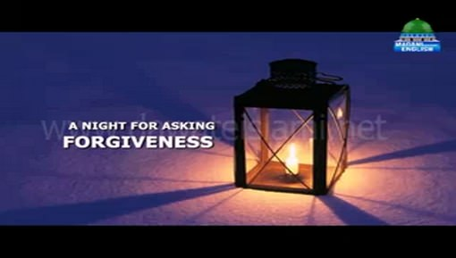 A Night For Asking Forgiveness