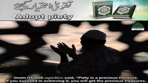 WhatsApp Status - Taqwa Ikhtiyaar Kijye - English Subtitled