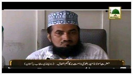 Madani Tassurat - Hazrat Maulana Haider Alvi Sahib دامت برکاتہم العالیہ (Pakistan)