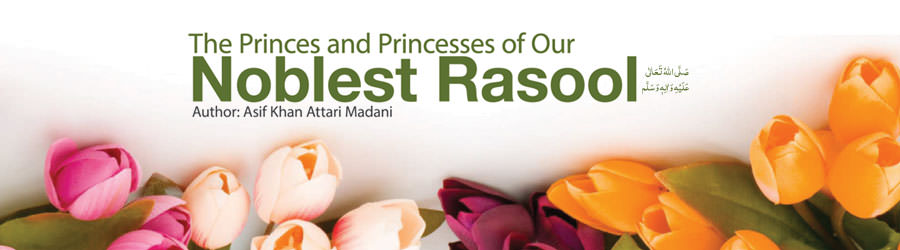 The princes and Princesses of Our Noblest Rasool