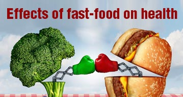 Effects of fast-food on health
