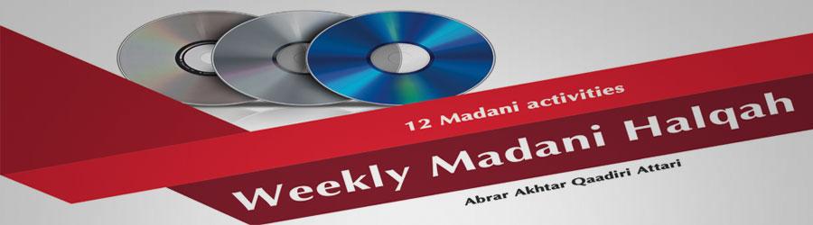 Weekly Madani Halqah