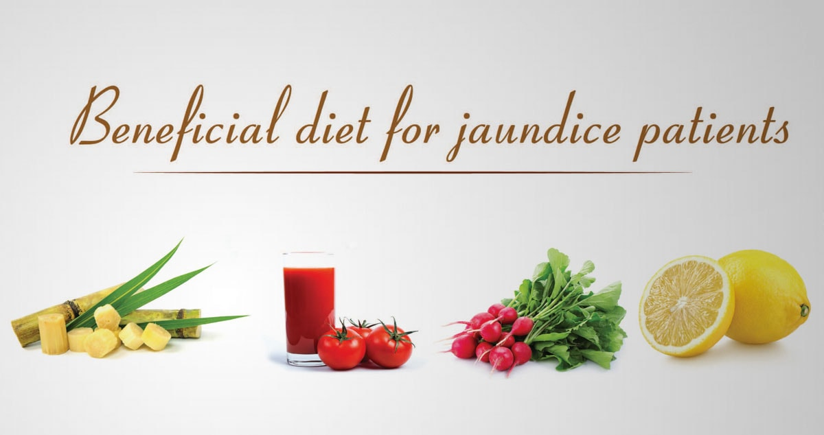 Beneficial diet for jaundice patients