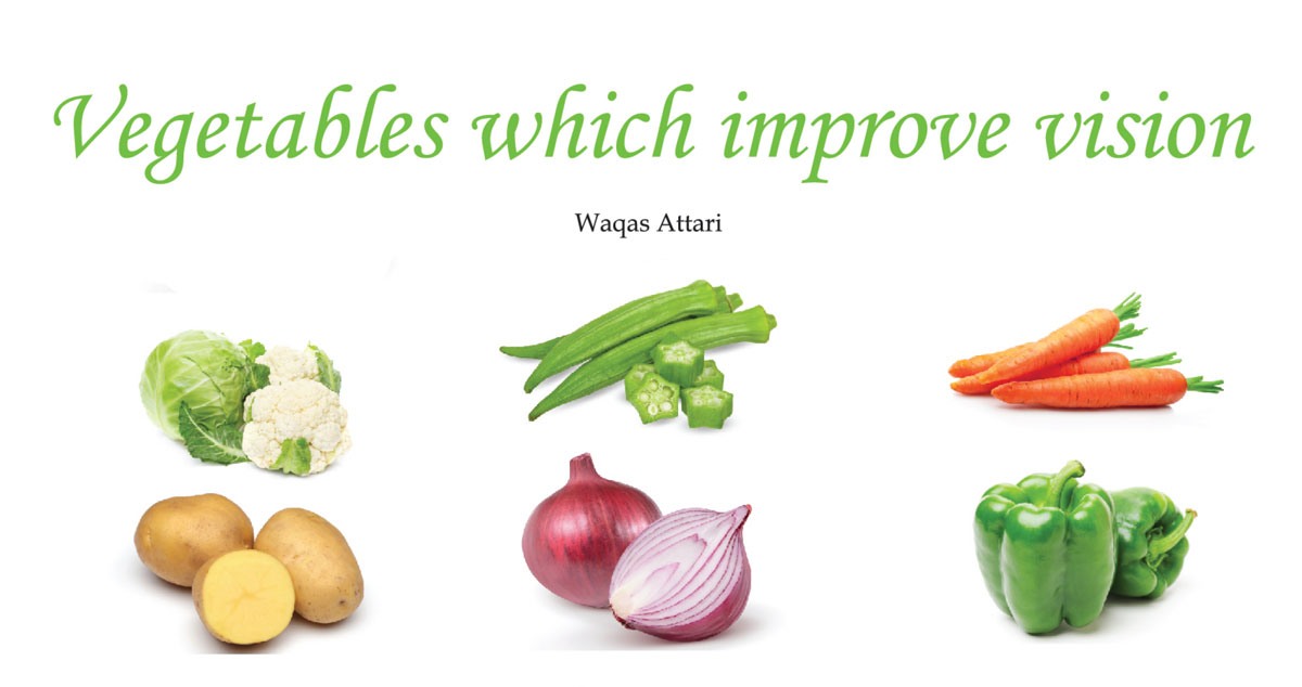 Vegetables which improve vision
