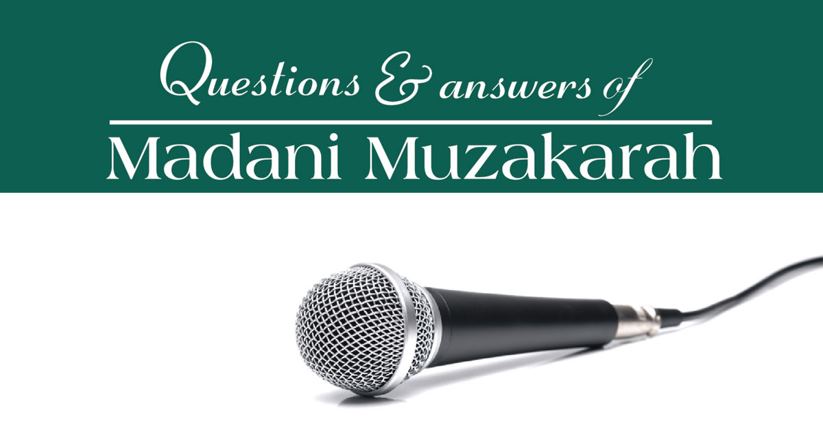 Questions and answers of Madani Muzakarah
