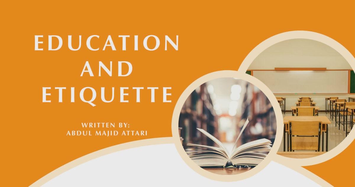 Education and etiquette