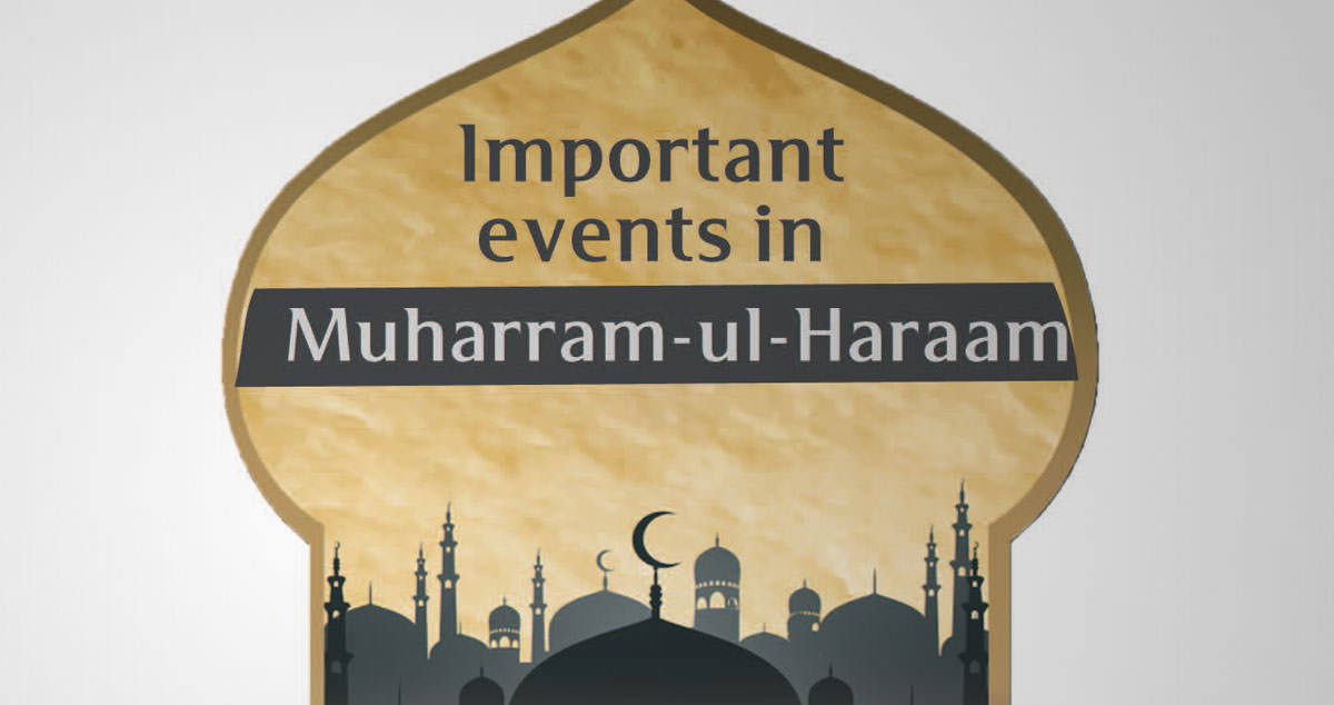 Important events in Muharram-ul-Haraam