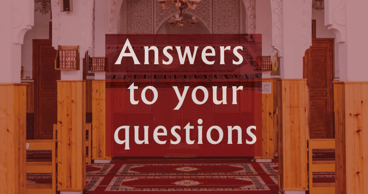 Answers to your questions