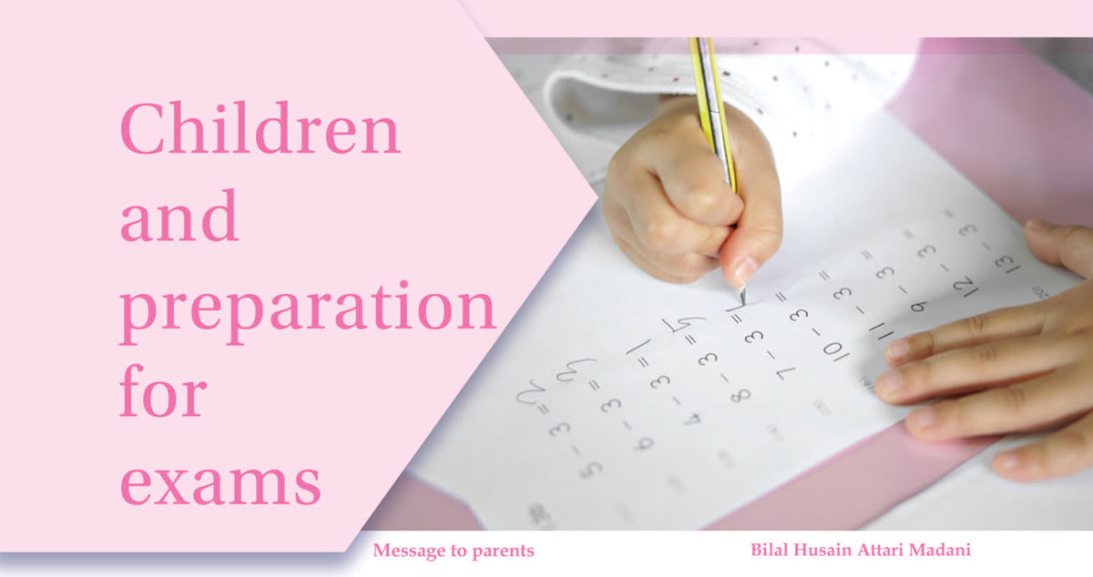 Children and preparation for exams