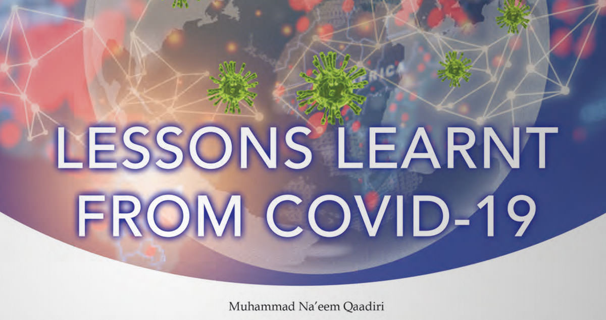 Lessons learnt from COVID-19