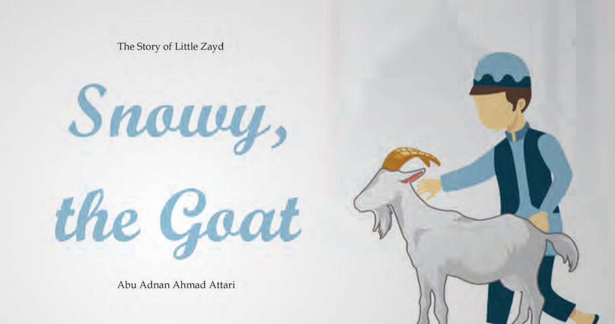 Snowy, the Goat
