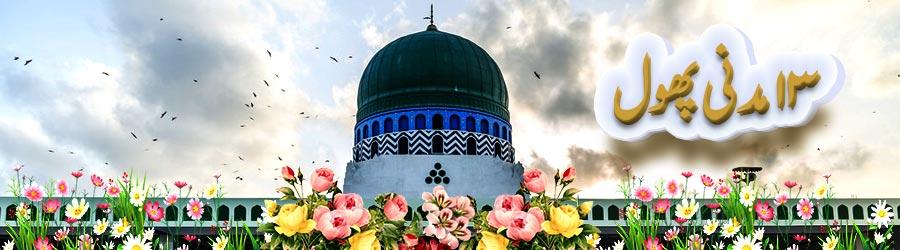''یا خدا حج قبول کر'' کے تیرہ حُرُوف کی نسبت سے13مَدَنی پھول