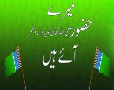 Meray Huzur ﷺ Aaye Hain - Memory Card