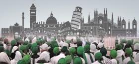 Madani Halqas in Cities of Italy