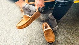 سنن لبس الحذاء