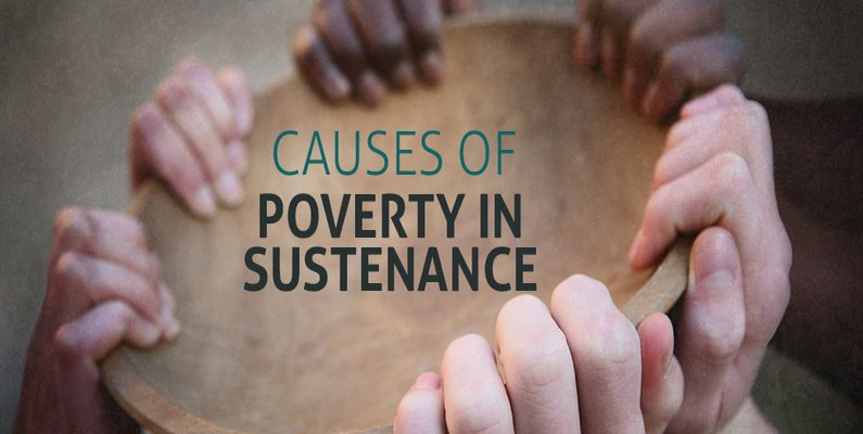 Causes Of Poverty In Sustenance