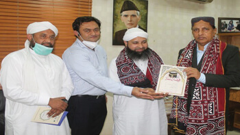 University of Sindh Kay Vice-Chancellor Se Mulaqat